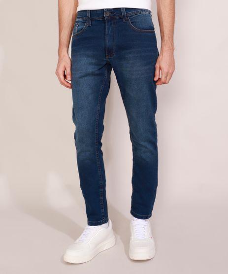 Calca-Jeans-de-Moletom-Masculina-Slim-Azul-Escuro-9982596-Azul_Escuro_1
