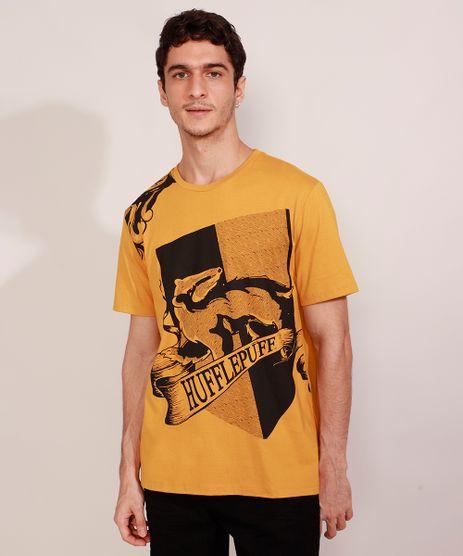 Camiseta-Masculina-Manga-Curta-Lufa-Lufa-Harry-Potter-Gola-Careca-Amarela-9984923-Amarelo_1