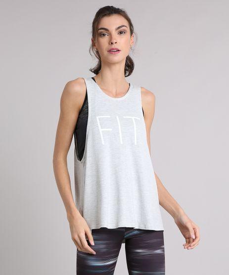 Regata-Feminina-Esportiva-Ace--Fit--Decote-Redondo-Cinza-Mescla-Claro-9116732-Cinza_Mescla_Claro_1
