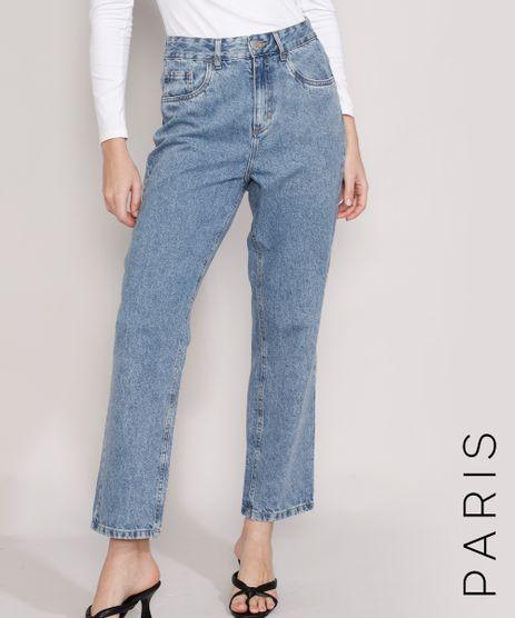Calca-Jeans-Feminina-Mindset-Reta-Paris-Cintura-Alta-Azul-Medio-Marmorizado-9987763-Azul_Medio_Marmorizado_1