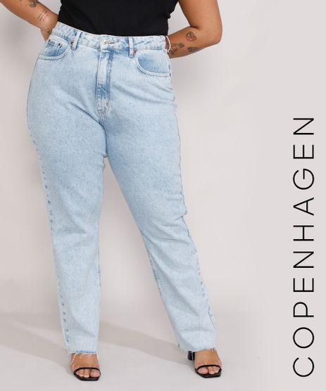 Calca-Jeans-Feminina-Plus-Size-Mindset-Reta-Loose-Copenhagen-Cintura-Super-Alta-Azul-Claro-Marmorizado-9987382-Azul_Claro_Marmorizado_1