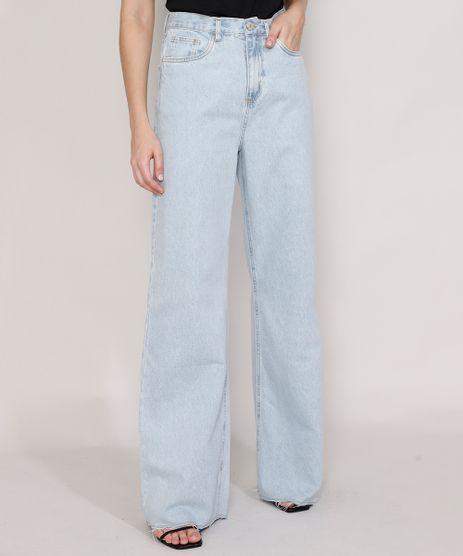 Calca-Jeans-Feminina-Mindset-Wide-Rio-Cintura-Super-Alta-Azul-Claro-Marmorizado-9987768-Azul_Claro_Marmorizado_1