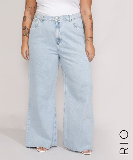 Calca-Jeans-Feminina-Plus-Size-Mindset-Wide-Rio-Cintura-Super-Alta-Azul-Claro-9987761-Azul_Claro_1