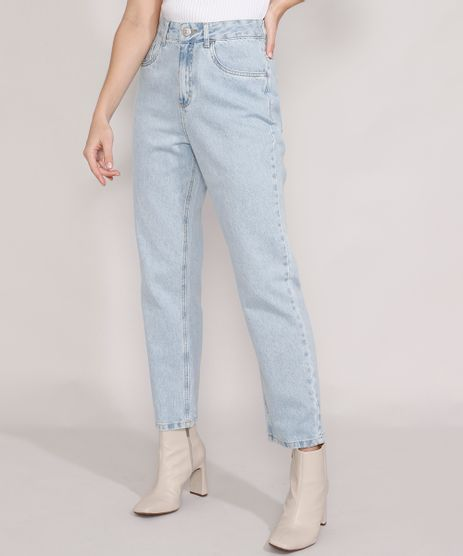 Calca-Jeans-Feminina-Mindset-Reta-Paris-Cintura-Alta-Azul-Claro-9987763-Azul_Claro_1