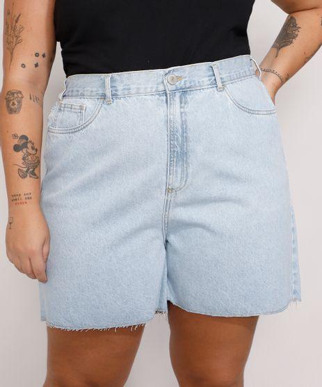 Short-Jeans-Feminino-Plus-Size-Mindset-Los-Angeles-Cintura-Alta-Azul-Claro-9987769-Azul_Claro_1