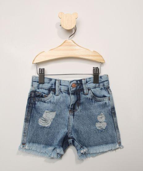 Short-Jeans-Infantil-Destroyed-com-Barra-Desfiada-Azul-Medio-9983163-Azul_Medio_1