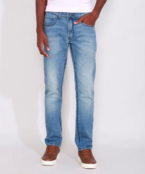 Calca-Jeans-Masculina-Reta-Azul-Medio-9986498-Azul_Medio_1
