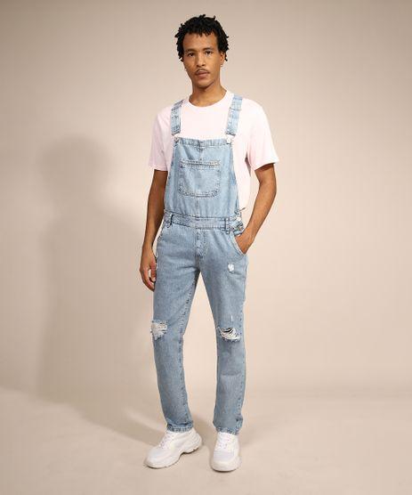 Macacao-Jeans-Masculino-Destroyed-Azul-Claro-9985769-Azul_Claro_1