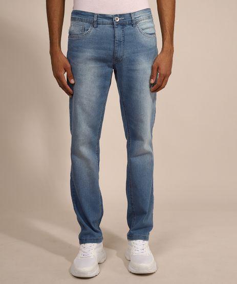 Calca-Jeans-Masculina-Reta-Azul-Claro-9979405-Azul_Claro_1