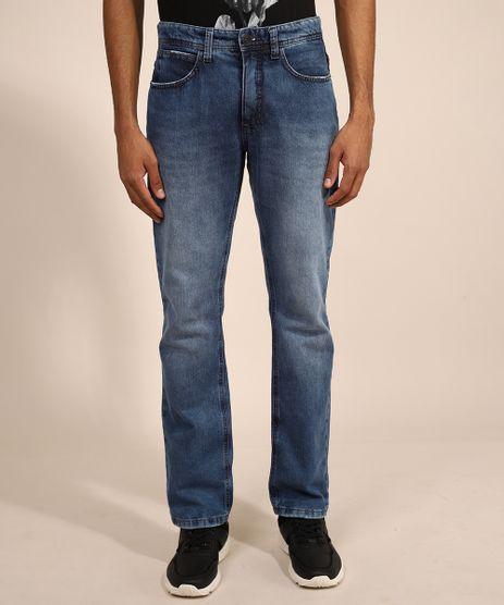 Calca-Jeans-Masculina-Slim-Straight-Azul-Medio-9986491-Azul_Medio_1