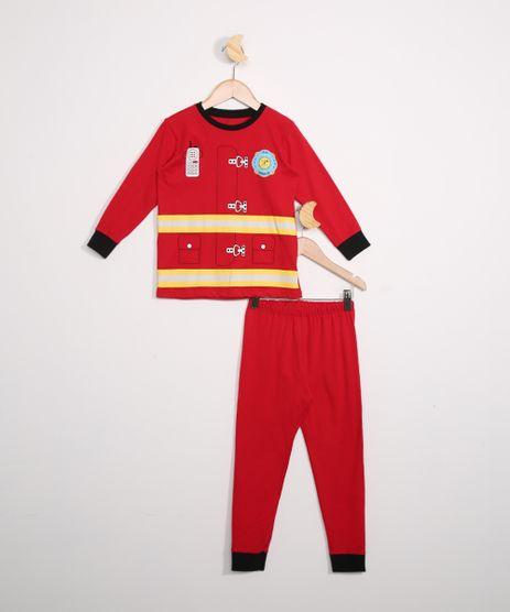 Pijama-Infantil-Manga-Longa-Bombeiro-Vermelho-9978437-Vermelho_1