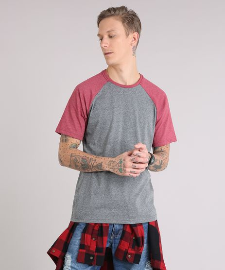 Camiseta-Masculina-Raglan-Basica-Manga-Curta-Decote-Careca-Cinza-Mescla-Escuro-8808223-Cinza_Mescla_Escuro_1_1