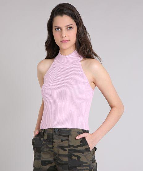 Regata-Feminina-Cropped-Halter-Neck-em-Tricot-Rosa-Claro-9250593-Rosa_Claro_1