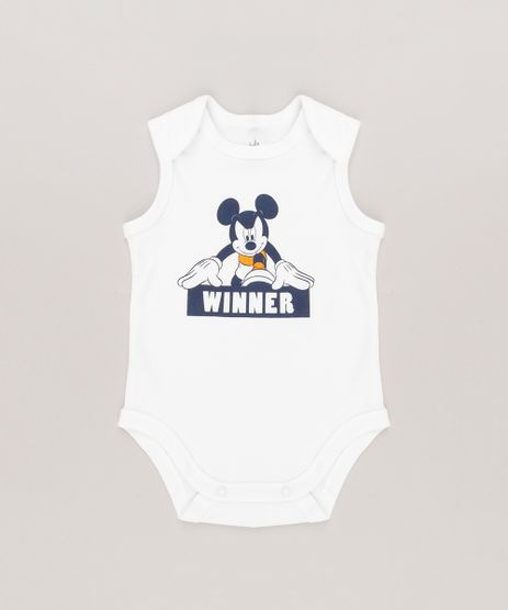 Body-Infantil-Mickey-Regata-Gola-Redonda-em-Algodao---Sustentavel-Off-White-8940903-Off_White_1