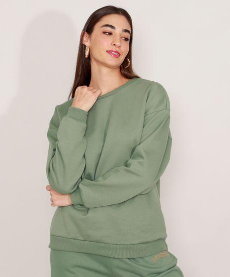 Blusa-Ampla-de-Moletom-Decote-Redondo-Mindset-Verde-9990341-Verde_1