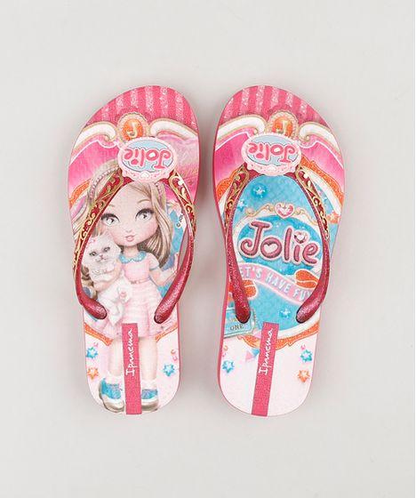 7f424ba2d Chinelo-infantil-Ipanema-Jolie-Estampado-Pink-9212967-Pink 1 ...