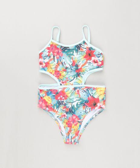 Maio-Infantil-Engana-Mamae-Estampado-Floral-com-Protecao-UV50--Verde-Claro-9120396-Verde_Claro_1