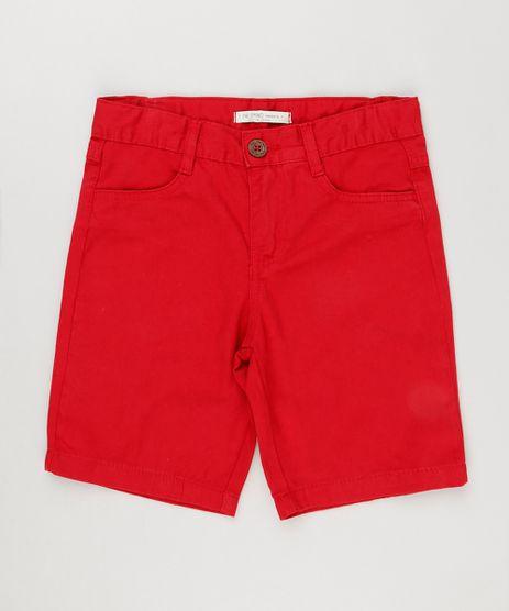 Bermuda-Color-Infantil-Reta-Vermelha-9230443-Vermelho_1