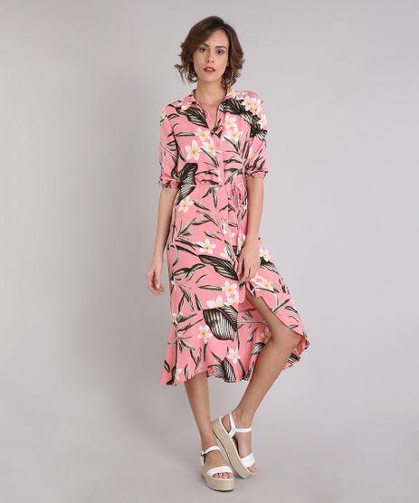 Saida-de-Praia-Chemise-Estampada-Floral-Manga-Longa-Rose-9184198-Rose_1