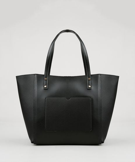 Bolsa-Feminina-Shopper-com-Bolso-Preta-9040139-Preto_1
