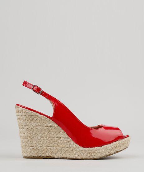 Sandalia-Feminina-Plataforma-em-Verniz-com-Corda-Vermelha-9180272-Vermelho_1