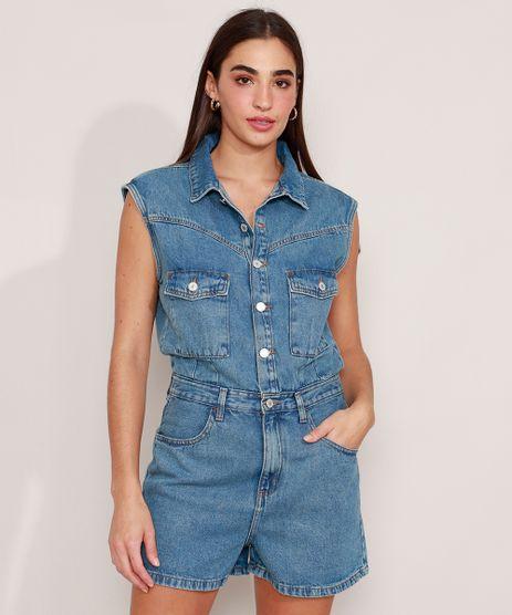 Macaquinho-Jeans-com-Bolsos-Sem-Manga-Azul-Medio-9990662-Azul_Medio_1