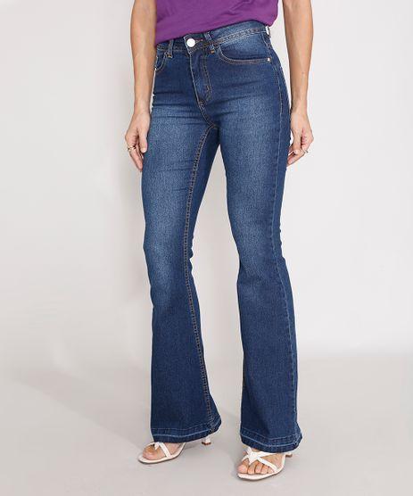 Calca-Flare-Jeans-Cintura-Alta-Azul-Escuro-9987902-Azul_Escuro_1