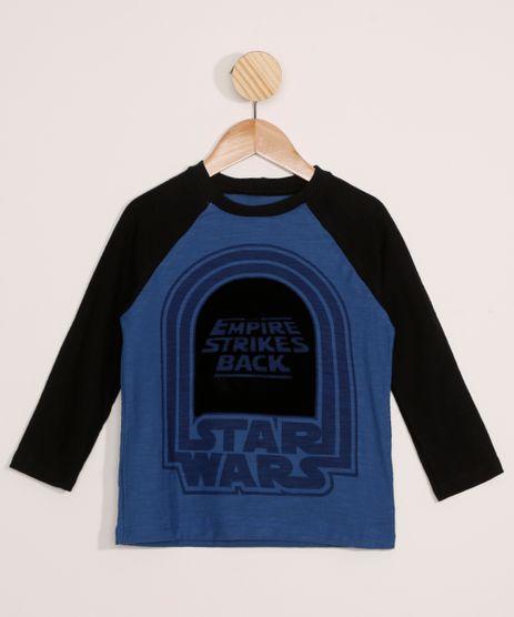 Camiseta-Infantil-Raglan-Star-Wars-Manga-Longa-Azul-9978447-Azul_1