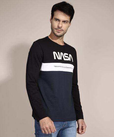 Camiseta-NASA-com-Recortes-Manga-Longa-Gola-Careca-Azul-9989070-Azul_1
