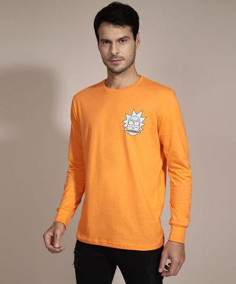 Camiseta-Rick-and-Morty-Manga-Longa-Gola-Careca-Laranja-9990405-Laranja_1