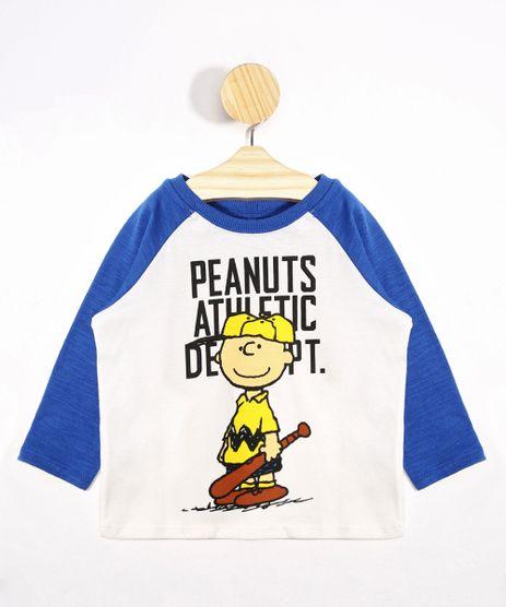 Camiseta-Infantil-Raglan-Snoopy-Manga-Longa-Gola-Careca-Off-White-9975784-Off_White_1