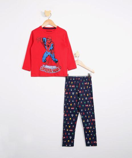 Pijama-Infantil-Homem-Aranha-Manga-Longa-Vermelho-9983632-Vermelho_1