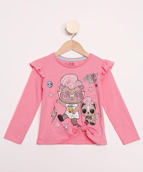 Blusa-Infantil-LOL-Surprise-com-Babados-Manga-Longa-Pink-9980744-Pink_1