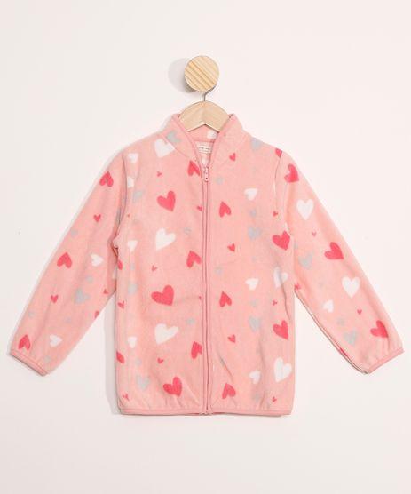 Jaqueta-Infantil-Fleece-Estampada-de-Coracoes-Rosa-9972047-Rosa_1