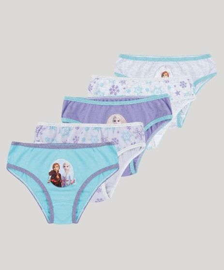 Kit-de-5-Calcinhas-Infantis-Frozen-Multicor-9800389-Multicor_1