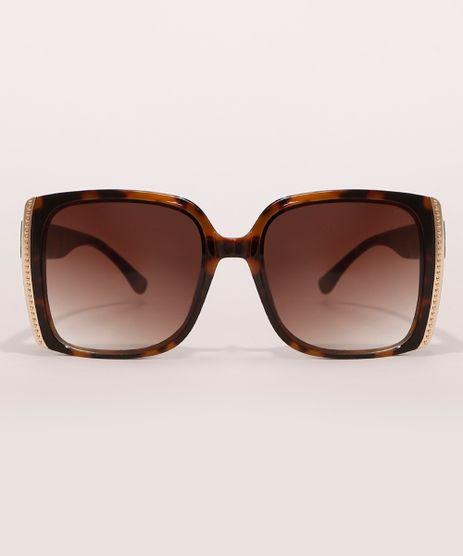 Oculos-de-Sol-Quadrado-Feminino-Yessica-Tartaruga-9990492-Tartaruga_1