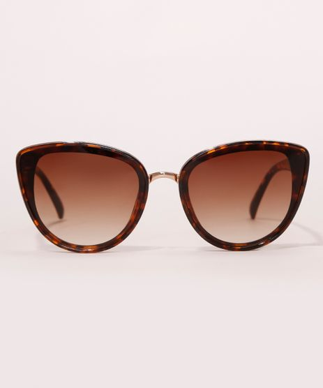 Oculos-de-Sol-Gatinho-Feminino-Yessica-Tartaruga-9990505-Tartaruga_1