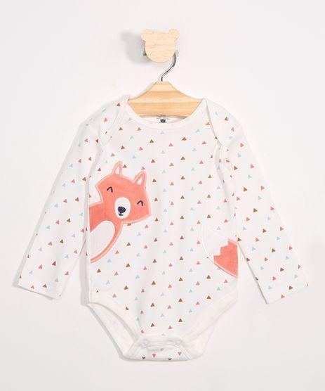 Body-Infantil-Estampado-Triangulos-Raposinha-Manga-Longa-Off-White-9849500-Off_White_1