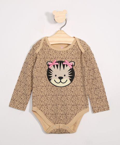 Body-Infantil-Estampado-Animal-Print-Onca-Manga-Longa-Bege-9969906-Bege_1