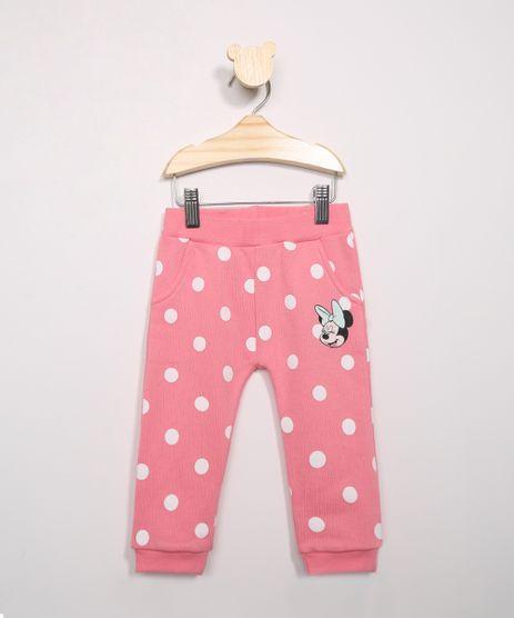 Calca-Infantil-de-Moletom-Jogger-Minnie-Estampada-Poa-Rosa-9971395-Rosa_1