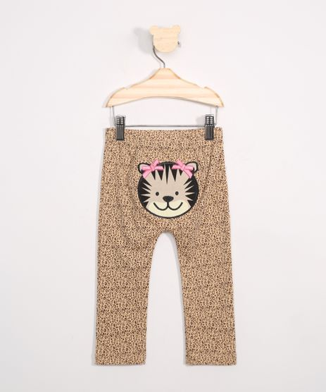 Calca-Infantil-Estampada-Animal-Print-Onca-Bege-9969806-Bege_1