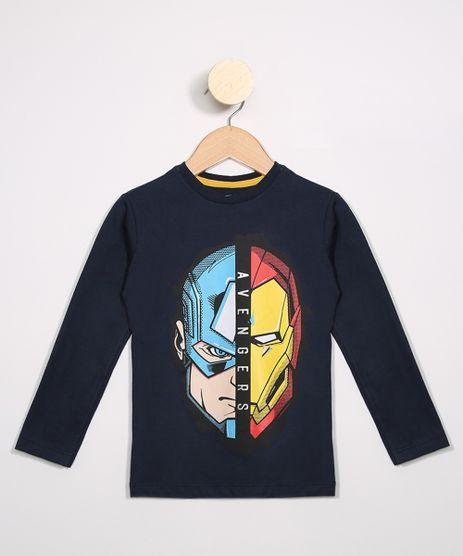 Camiseta-Infantil-Capitao-America-e-Homem-de-Ferro-Manga-Longa-Azul-Marinho-9987513-Azul_Marinho_1