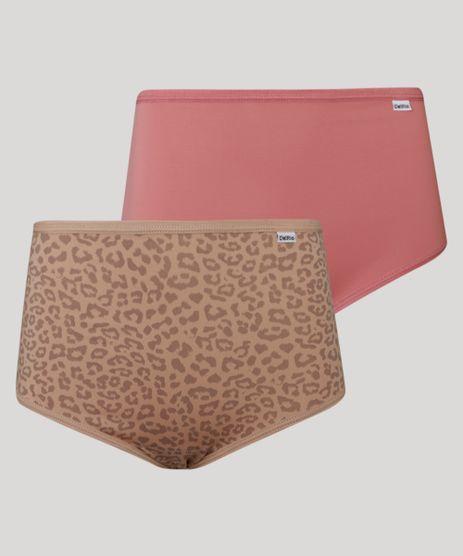 Kit-de-2-Calcinhas-Calecon-Cintura-Alta-Animal-Print-Onca-DelRio-Multicor-9987471-Multicor_1