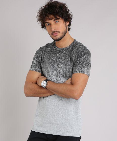 Camiseta-Masculina-Slim-Fit-Estampada-Manga-Curta-Gola-Careca-Cinza-Mescla-8760943-Cinza_Mescla_1