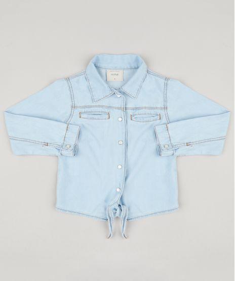 Camisa-Jeans-Infantil-com-Bolsos-e-No-Manga-Longa-Azul-Claro-9168807-Azul_Claro_1