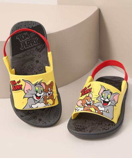 Sandalia-Infantil-Tom-e-Jerry-Grendene-Cinza-9990609-Cinza_1