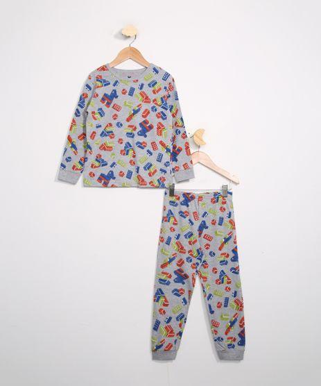 Pijama-Infantil-Manga-Longa-Estampado-Blocos-Brandili-Cinza-Mescla-9983970-Cinza_Mescla_1