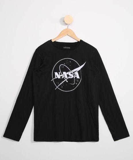 Camiseta-Juvenil-Nasa-Manga-Longa-Preta-9979953-Preto_1