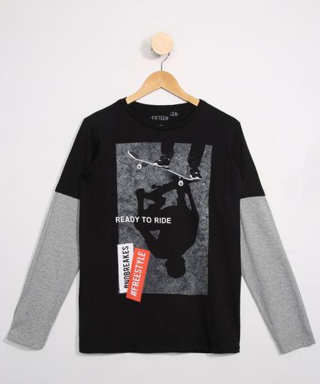 Camiseta-Juvenil-Skatista--Ready-To-Ride--Manga-Longa-Preta-9979975-Preto_1