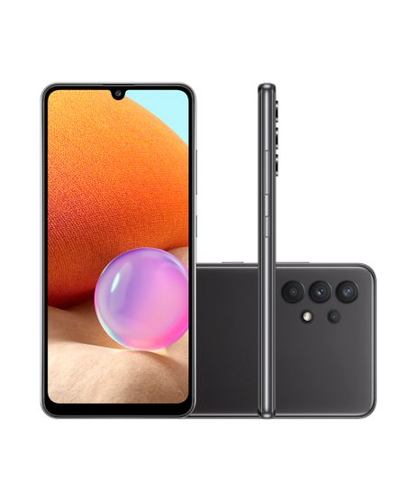 Smartphone-Samsung-Galaxy-A32-Dual-Chip-Android-11-0-Tela-Infinita-de-6-4--128GB-Camera-64MP---8MP---5MP---2MP-Frontal-20MP-Preto-9994727-Preto_1